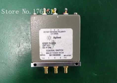 [BELLA] The Agilent ORIGINAL Agilent 8762F DC-4GHZ 75 Ohm SPDT 5V  --20PCS/LOT