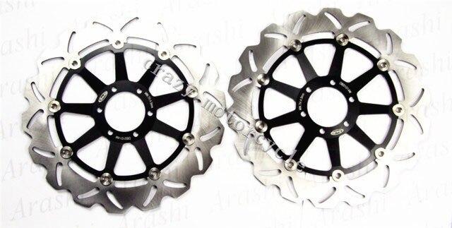Motorcycle Brake Disc Rotor fit for APRILIA  MX125 2004-2007 RS125 1998-2011 TUONO 125 2004-2005 PEGASO STRADA 650 2005-2009 8 colors cnc motorcycle brakes clutch levers for aprilia rs 50 rs50 2000 2005 rs 125 rs125 1998 2005 accessories free shipping