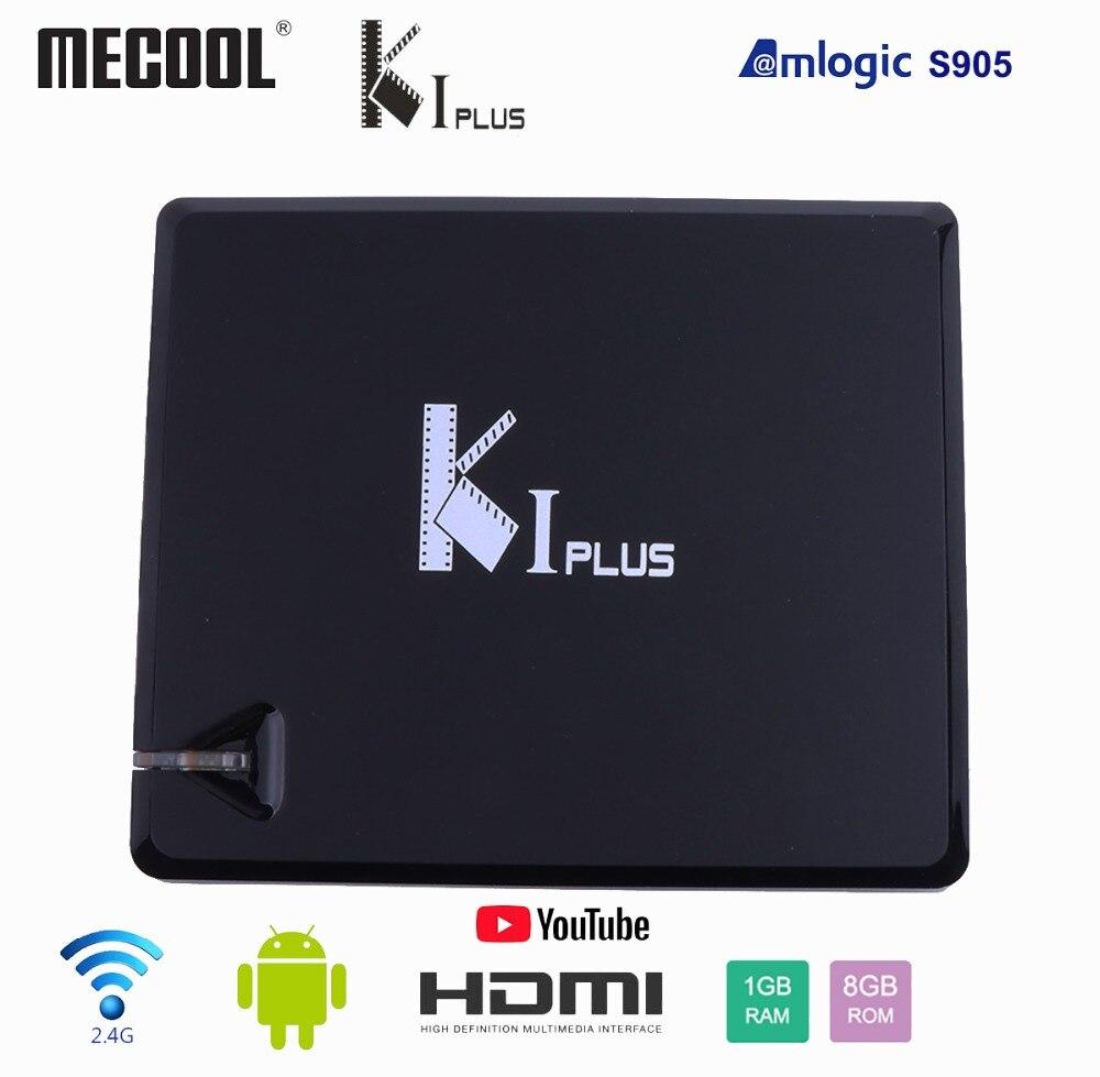Mecool K1 PLUS Amlogic S905D QuadCore Smart TV BOX Android 7 1 DVB T2 DVB S2