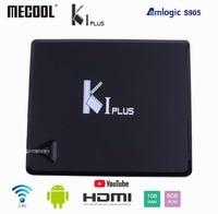 Mecool K1 PLUS Amlogic S905D QuadCore Smart TV BOX Android 7.1 DVB T2 DVB S2 DVB C 4 in 1 Combo TV Box KI PLUS 4K Media Player