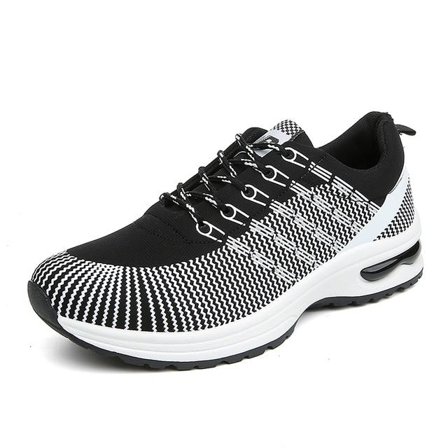 Мужчины Air Mesh Прогулки Дышащие Ткани Обувь Мода Мужская Спортивная Повседневная Обувь zapatillas deportivas hombre Chaussures де Курс