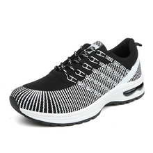 Men Air Mesh Walking Breathable Woven Shoes Fashion Mens Sport Casual Shoes zapatillas deportivas hombre Chaussures de Course