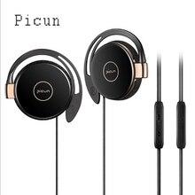 Оригинальный Picun L1 Новый стерео наушники проводные спортивные наушники Airpods враг де Ouvido для iPhone X samsung Примечание 8 htc LG Xiaomi