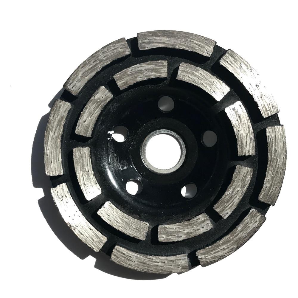 ENVÍO GRATIS 1pc muela abrasiva prensada en frío 100 * 20 * 5mm - Hojas de sierra - foto 3