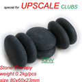 New! No Waxing Finishing Polish 80x60x20mm 96pcs/lot Hot stone body massage tools set Salon SPA