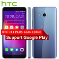 Лидер продаж htc U11 плюс U11 + 4G LTE мобильный телефон 6 ГБ + 128 GB Snapdragon 835 Octa Core 6,0 дюйма IP68 1440x2880 P Android 8,0 смартфон