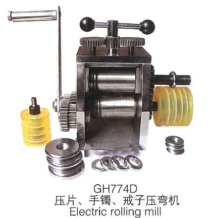 Jewelry Ring Bending Machine Rolling Mill Hand Operated