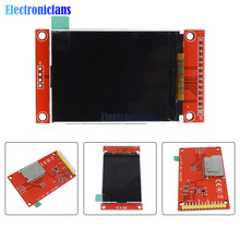 """2,"""" 240x320 SPI TFT lcd модуль последовательного порта+ 5 В/3,3 В адаптер PBC Micro SD ILI9341 Белый светодиодный 2,4 дюйма"""