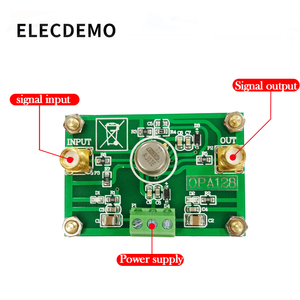 Image 2 - OPA128 Module Electrometer level charge operational amplifier low bias low offset 110dB gain high impedance
