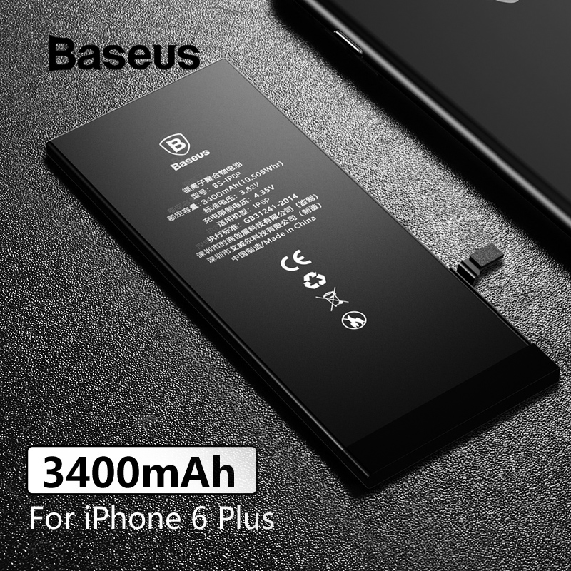 Baseus Phone-Batteries IPhone Replacement-Battery 3400mah 6-Plus For 6-plus/3400mah/Capacity