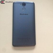 New Original Battery Cover Back Shell Whit Fingerprint Sensor Button For Blackview P2 tracking