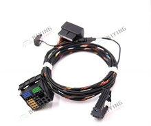 FOR Golf Passat Tiguan Jetta 9W2 9W7 9ZZ Bluetooth RCD510 RNS510 Plug&Play Wiring Harness cables With Microphone