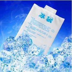 5 шт./лот, бесплатная доставка, высококачественный гелевый пакет для льда 400 мл/сумка-холодильник для хранения еды, пикника, льда