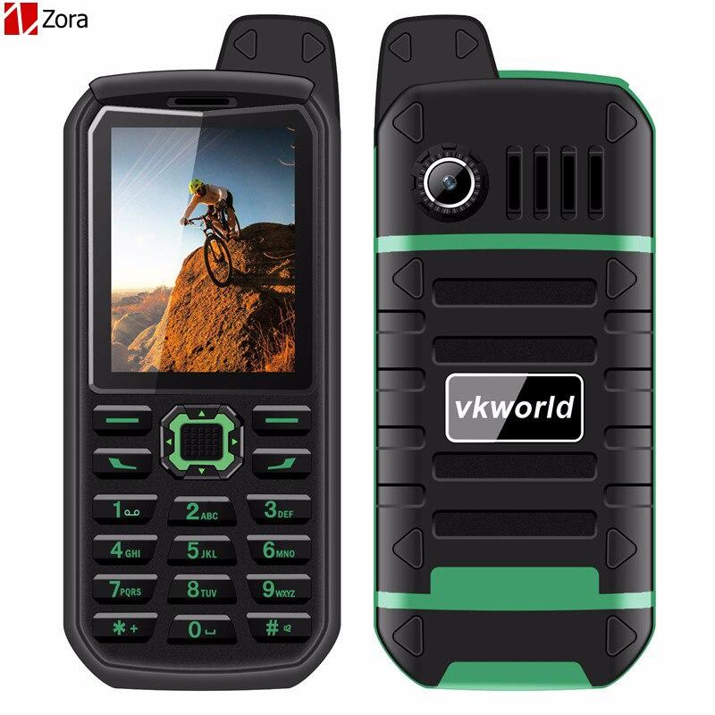 Цена за Горячая Vkworld Stone V3 Плюс 2.4 Дюймов Quad Band Разблокирована Мобильного Телефона MTK6261 IP54 Водонепроницаемый Пыленепроницаемый 4000 мАч Dual SIM мобильный телефон