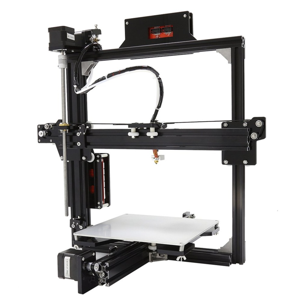 Professional LCD Screen Display 3D Printer 100MM S MAX Printing Speed Large Printing Size DIY 3D