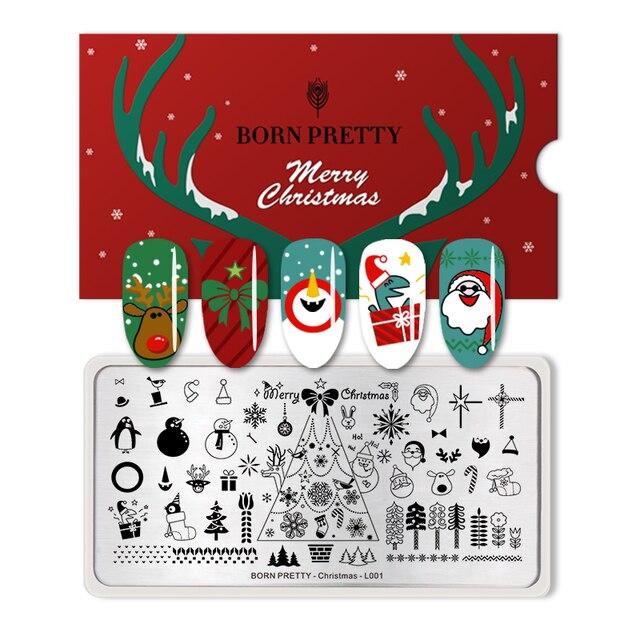 Christmas Nail Stencils | Best Nail Designs 2018