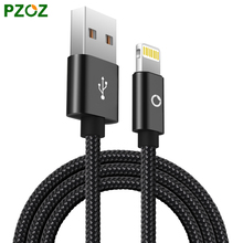 PZOZ Lighting Cable Fast Charger Adapter Original Mobile Phone USB Cable For iphone 6 S Plus 5 5S iPad Air 2 iPod Touch i6 i5