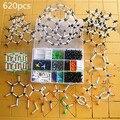 620 шт. большой набор Химическая молекулярная модель Органических и неорганических структура молекулы модели/модель Кристаллической структуры бесплатная доставка