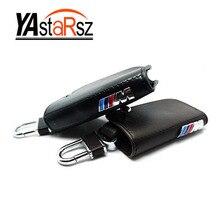 Car Key Wallet,Sport fashion key case,keychain holder cover bag,Leather ///M emblem key case for BMW E90 F10 F30 F20 X3 X1 X5 X6