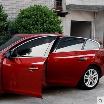 2014-2016 for volvo xc60 V40 bottom stainless steel window trim strip retrofit windows bright window trim chrome bar
