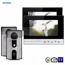DIYSECUR 7inch Record/Photograph Video Door Phone Doorbell Home Security Intercom System 125KHz RFID Camera IR Night Vision