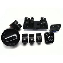 8 шт./компл. окно фара зеркало багажника и топлива дверной контрольный переключатель кнопки для VW Passat B6 3C0962125B 5ND959565B 5ND941431A