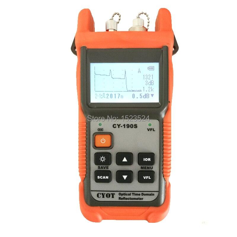 De fibra óptica Ranger MINI OTDR CY190S Localizador Visual culpa de detección y posicionamiento instrumento