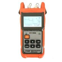 Fibra óptica ranger mini otdr cy190s localizador visual de falhas detecção e posicionamento instrumento