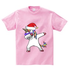 Cotton Boys Summer Tops Tee Dab Panda Dog Children funny T shirt  Dabbing Dance T-shirt For Kids Girls Celebrations Tshirt NN