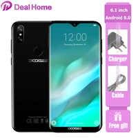 DOOGEE Y8 6.1 19:9 Waterdrop Display Android 9.0 3400mAh MTK6739 Smartphone 3GB di RAM 32GB di ROM di Impronte Digitali ID 4G LTE Mobile Phone