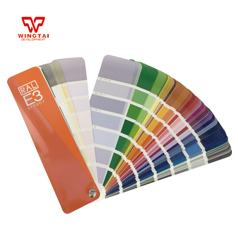Germany RAL E3 EFFECT Solid Color/Metallic Color Card 2016 hot sale original ral color shade card ral k5 ral color chart k5