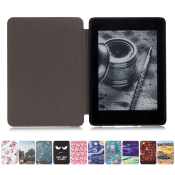 TPU Soft Case For Amazon Kindle Paperwhite 4 Smart Cover Painting eBook Case for Kindle Paperwhite4 with Auto Wake/Sleep [category]