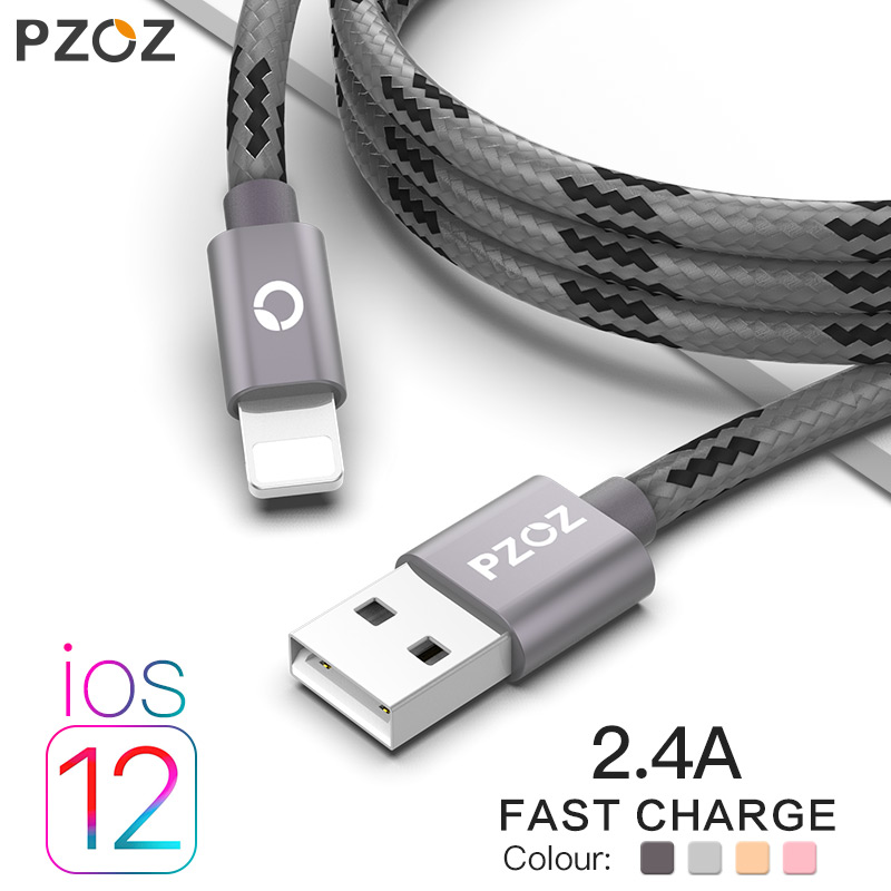 2 M Fast Charging Usb Cable for Iphone 8 7 6 Plus 6s 5 5s se X Ipad 2 Mini