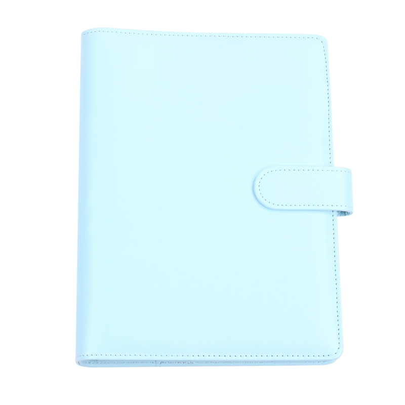 A5 Weekly Monthly Planner Diary Classic Loose-Leaf-Ring-Binder Notebook Cover, Blue