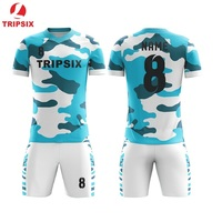 Kids Football Uniform Top Quality Personalised Sublimation Soccer Jersey Free Shipping
