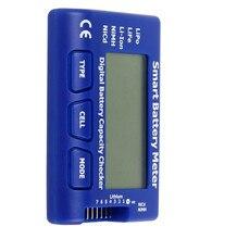 Medidor de batería inteligente 5 en 1, probador de batería LiPo/LiFe/Li ion/NiMH/Nicd, descargador de equilibrio, Servo/ESC/PPM