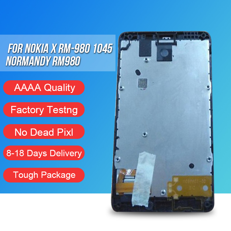 ACKOOLLA font b Mobile b font Phone LCDs For Nokia X RM 980 1045 Normandy RM980