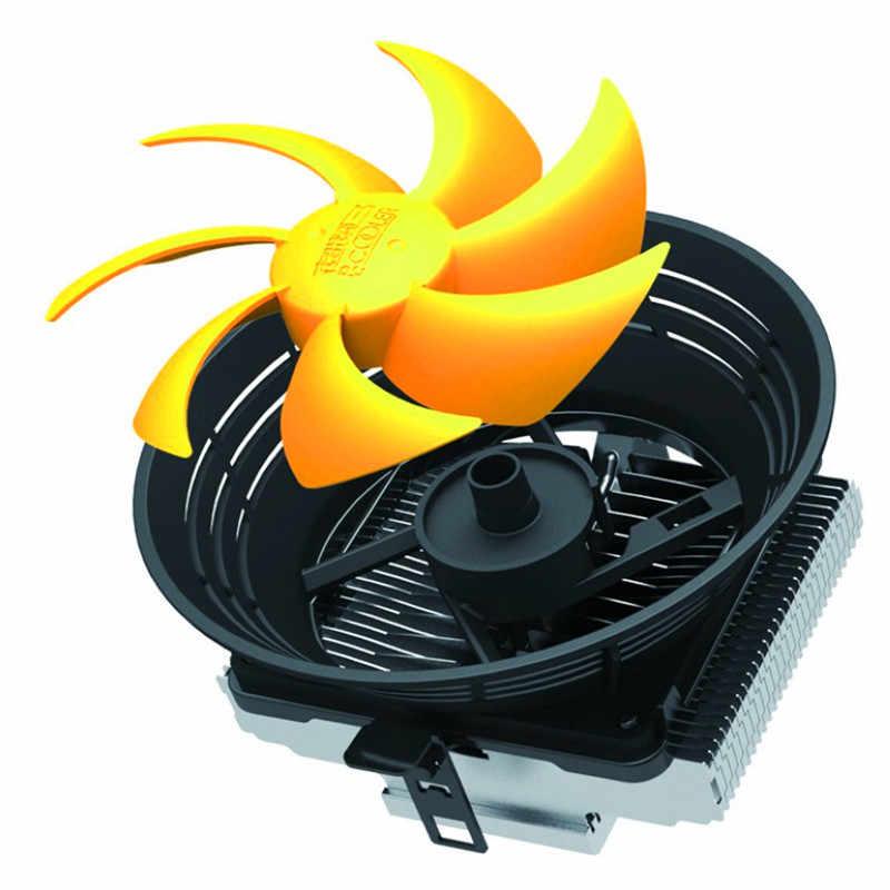 PcCooler Q120 wentylator do procesora Intel LGA 775 1155 1156 1150 AMD FM2 pulpit chłodzenia cieczą gniazdo CPU wentylator radiatora uchwyt na
