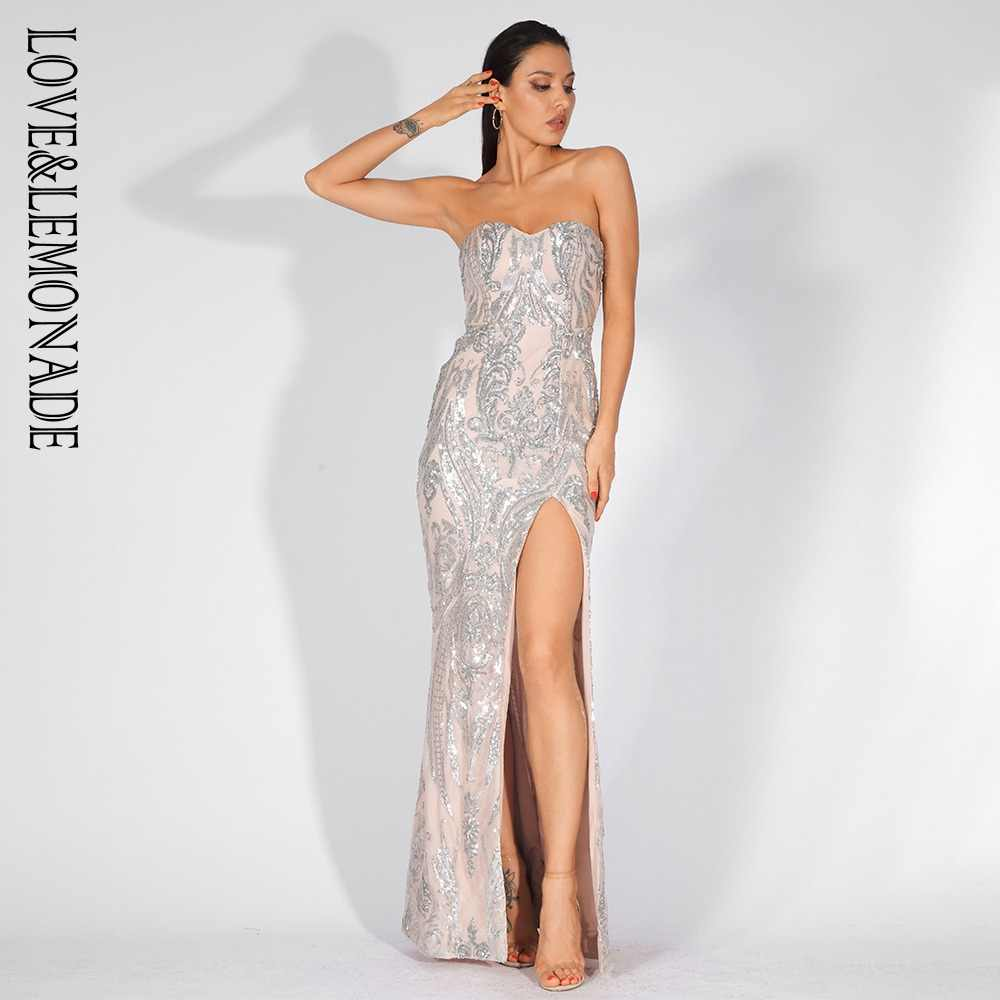3581a65527 Detail Feedback Questions about Love&Lemonade Sexy Strapless Cut Out ...