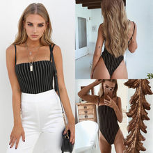 2019 Brand New Style Fashion Sexy Women's Sleeveless Bodysui