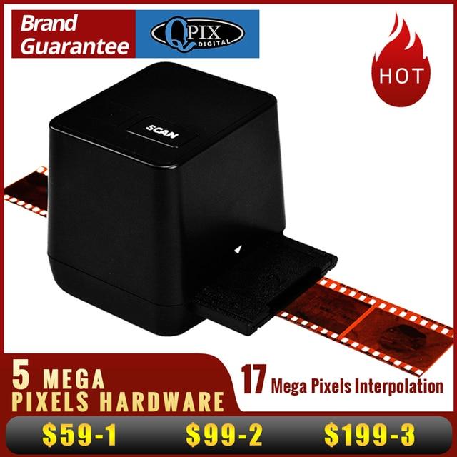 Yüksek Çözünürlüklü Film Tarayıcı Tarama Ve Yakalama 17.9 Mega Piksel 135 Slayt ve Film Dönüştürücü 35mm Negatif Film Tarayıcı