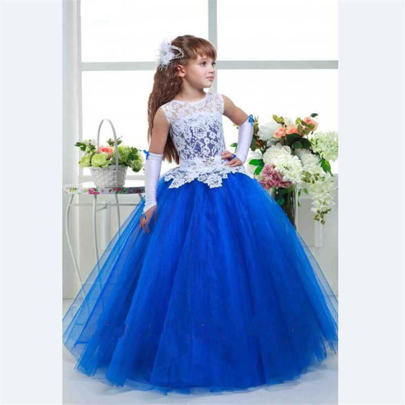 2019   Flower     Girls   Pageant   Dresses   Ball Gown Sleeveless Appliques   Flower     Girl     Dresses   Baby   Girl   Tutu   Dress   Communion   Dresses