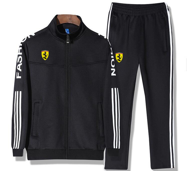 Men Jogging Sport Blazers Tracksuit Coat Jacket Trouses Pants Suit Outfit sweat suits jogger sets