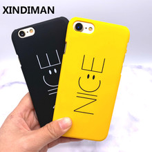 2019Black yellow phone case for iphone6 cover Nice Hard PC iphone 6s 7 7plus iphone5s 6plus 8 8plus X XR XSMAX