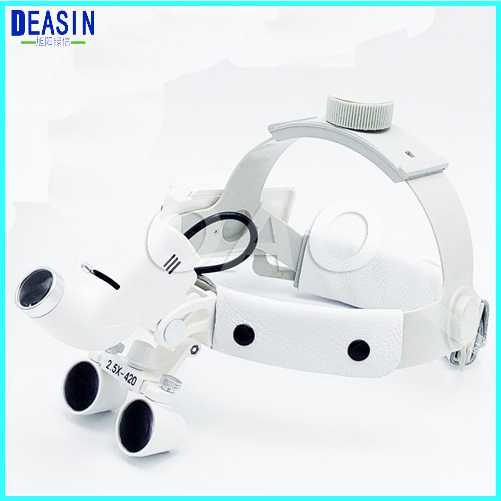 Hot sale 2.5X Medical Magnifier All in Ones operation lamp surgical headlight and Dental LoupesHot sale 2.5X Medical Magnifier All in Ones operation lamp surgical headlight and Dental Loupes