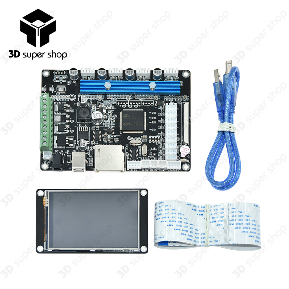 STM32 integrated circuit mainboard LCD controller motherboard with TFT32 v3.5 touch screen Stepper Motor Driver Module g121s1 l01 genuine genuine lcd lcd module can be equipped with driver board touch