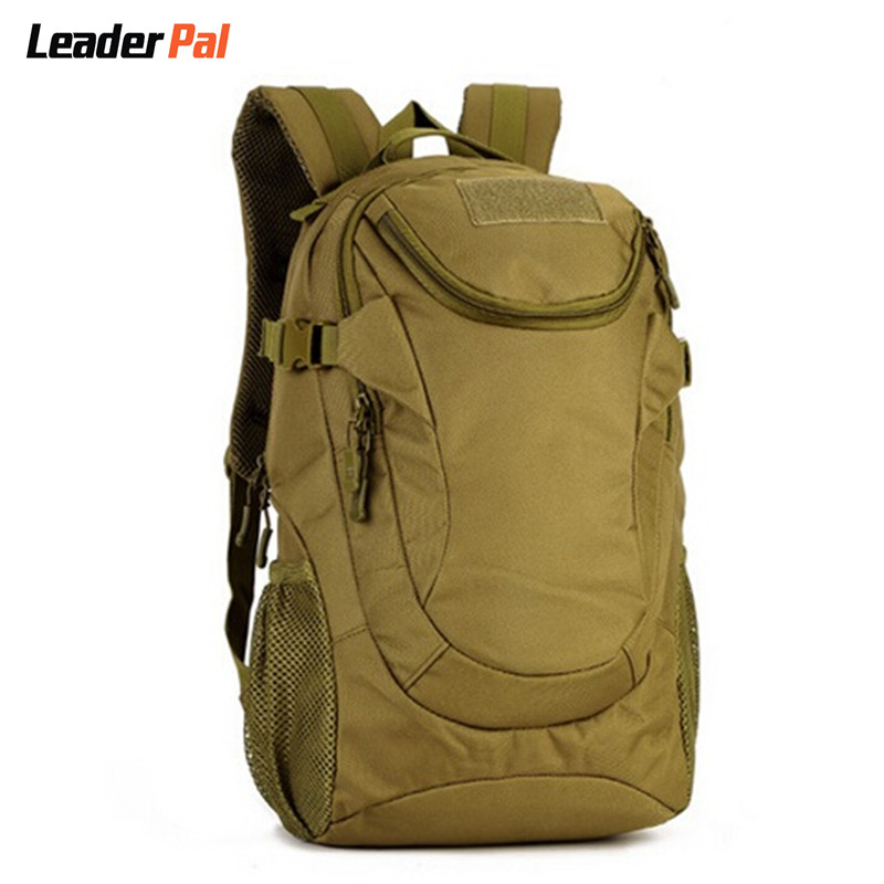 ФОТО 25L Military Backpack Rucksack Gear Waterproof Tactics Assault Pack Student School Bag for Hike Travel