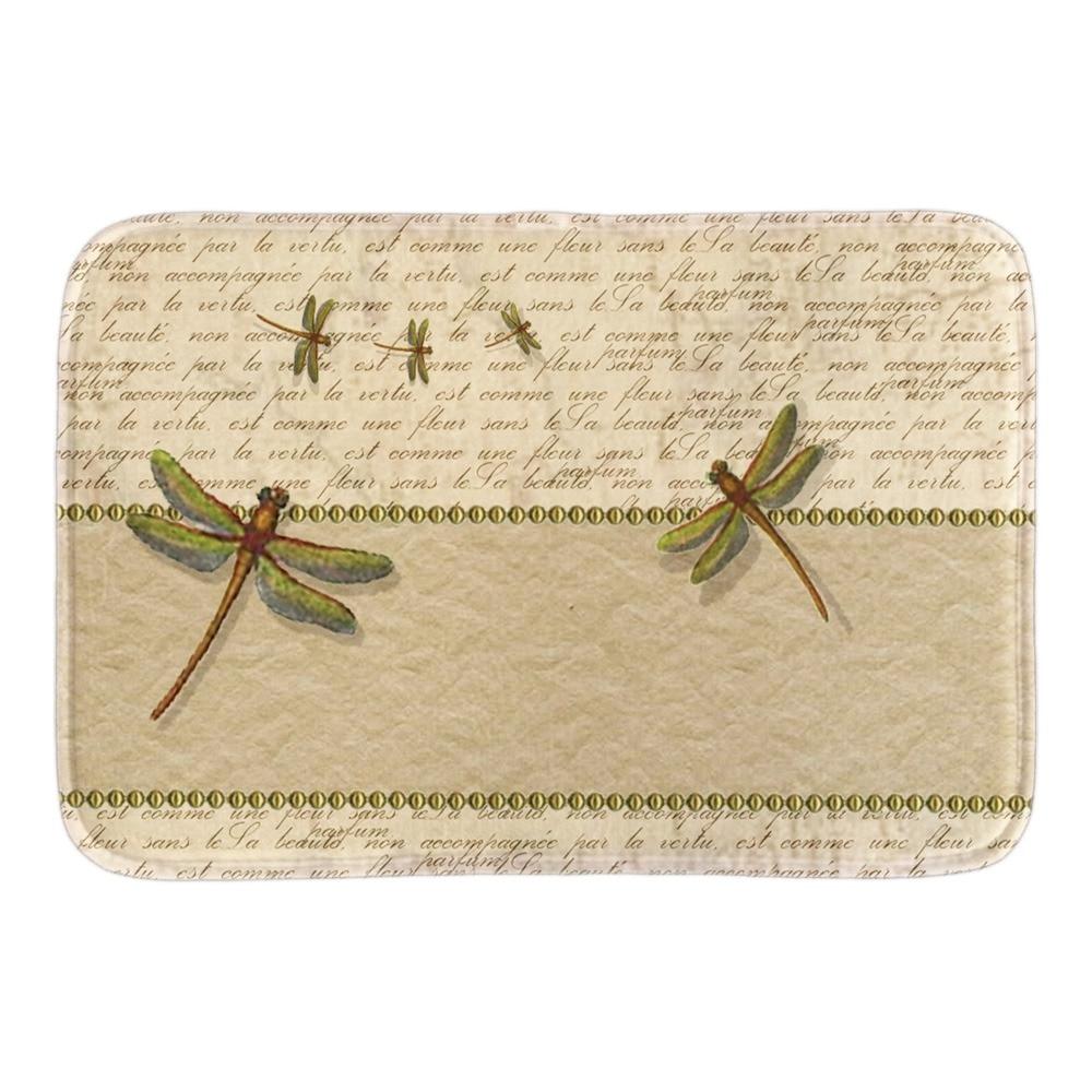 Lovely Dragonfly Home Decor Doormats Soft Lightness font b Indoor b font Outdoor Living Room Bathroom