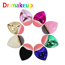 1PCS Professional Mermaid Shape Gradient Color Fish Makeup Brush BB CC Powder Foundation Blush Face Cosmetic Tools Wholesale