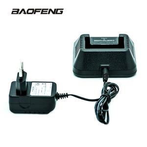 Baofeng Walkie Talkie UV-5R Original Charger All New UV 5R Desk Charger Station for UV-5R 5RE 5RA 100V~240V EU Power Plug Base